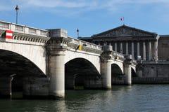Pont de la Concorde Stock Image