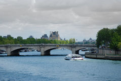 Pont de la Concorde. Paris Royalty Free Stock Photo