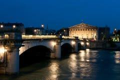 Pont de la Concorde in Paris Royalty Free Stock Photos