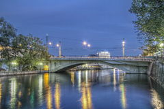 Pont de la Coulouvreniere Geneva Switzerland Royalty Free Stock Images
