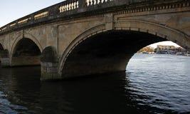 Pont de la Henley-sur-Tamise sur la Tamise Oxfordshire photos libres de droits