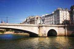 Pont de la Tournelle on Seine Stock Photos