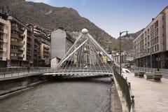 Pont de la Vella, Andorra, 2014 de París, Andorra imágenes de archivo libres de regalías