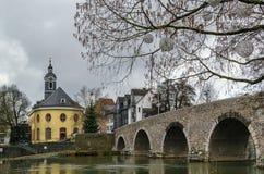 Pont de Lahn dans Wetzlar, Allemagne photo stock