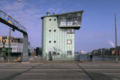 Pont de Langebro à Copenhague photographie stock