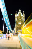 Pont de Londres, nuit Photo stock