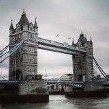 Pont de Londres de pont de tour beau photo libre de droits