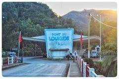 Pont de Loukous au Maroc du nord photographie stock libre de droits