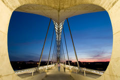 Pont de Lusitania, Mérida photo libre de droits