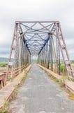 Pont de Mackay au-dessus de la rivière de dimanche Photos libres de droits