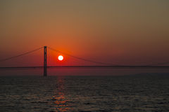 Pont de Mackinac photographie stock libre de droits