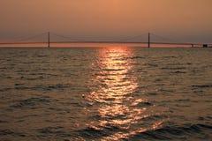 Pont de Mackinaw Images stock