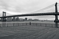 Pont de Manhattan à Manhattan New York City Image stock