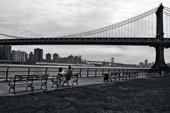 Pont de Manhattan à Manhattan New York City Photo libre de droits
