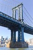 Pont de Manhattan à New York Image stock