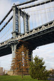 Pont de Manhattan images libres de droits