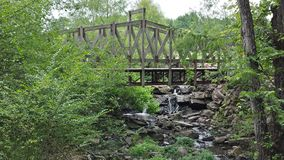 Pont de marche Images stock