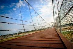 Pont de marche Image stock