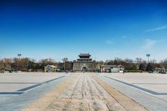 Pont de Marco Polo wanping dans Pékin Images libres de droits