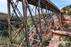 Pont de Midgley chez Sedona, Arizona Images libres de droits