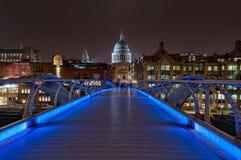 Pont de millénaire Image libre de droits