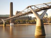 Pont de millénaire Photo libre de droits