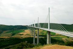Pont De Millau Images libres de droits