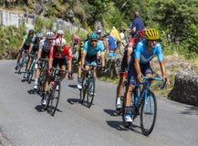 The Peloton - Tour de France 2018 Royalty Free Stock Images