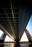 Pont de Moscou en hiver Photo libre de droits
