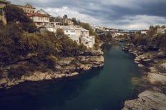 Pont de Mostar Photo libre de droits