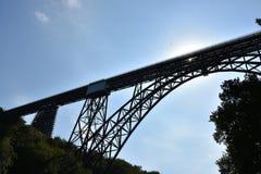 Pont de Muengsten Image libre de droits