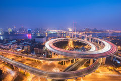 Pont de NanPu photographie stock libre de droits