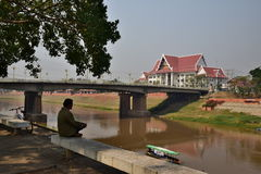 Pont de Naresuan photo libre de droits