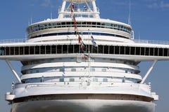 Pont de navigation de bateau de croisière de l'amour Image libre de droits