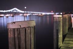 Pont de Newport Images stock