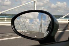Pont de Normandie Image libre de droits