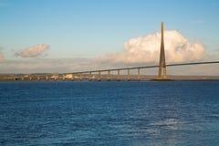 Pont DE Normandie Royalty-vrije Stock Afbeeldingen