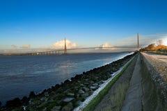 Pont de Normandie Royalty Free Stock Photography
