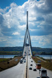 Pont de Normandie Bridge Stock Images