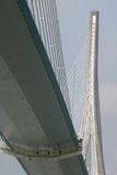 Pont DE Normandie (brug) Royalty-vrije Stock Foto