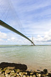 Pont de Normandie, Le Havre, France Stock Photos