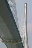 Pont de Normandie (ponte) Foto de Stock Royalty Free