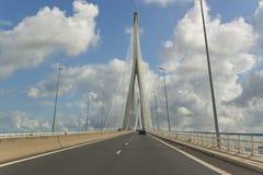 Pont de Normandie Stock Photography