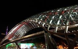 Pont de paix - Tbilisi photo libre de droits