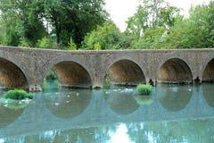 Pont de Pattes, Salinelles Photographie stock