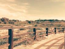 Pont de paysage Photographie stock libre de droits