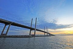 Pont de Penang photo libre de droits