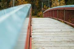 Pont de pied Images libres de droits