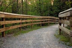 Pont de pied Photos libres de droits