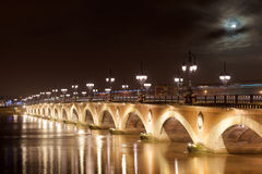 Pont de Pierre, Bordeaux Royalty Free Stock Photos
